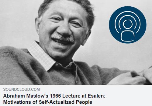 WAS KÖNNEN WIR VON UNSEREN BEDÜRFNISSEN LERNEN? – Abraham Maslow