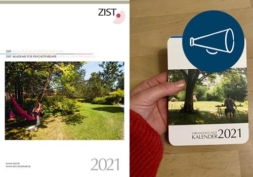 VERANSTALTUNGEN 2021 – Programmheft und Pocketkalender