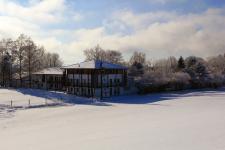 ZIST Hauptgebäude im Winter